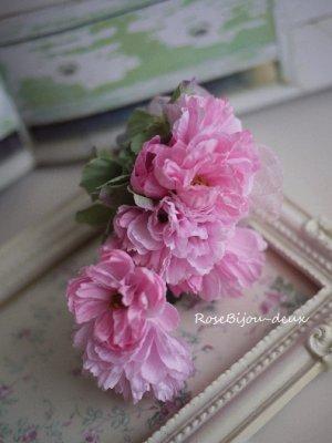 画像1: 八重山桜コサージュ