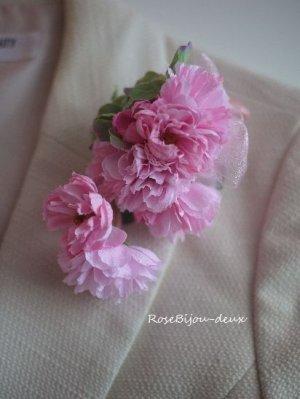 画像3: 八重山桜コサージュ